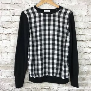 Equipment Femme Roland sweater Gingham check
